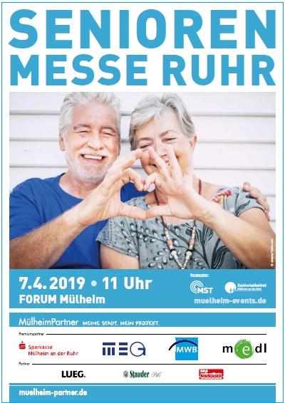 Besuchen Sie uns auf der Senioren Messe Ruhr (1. OG)